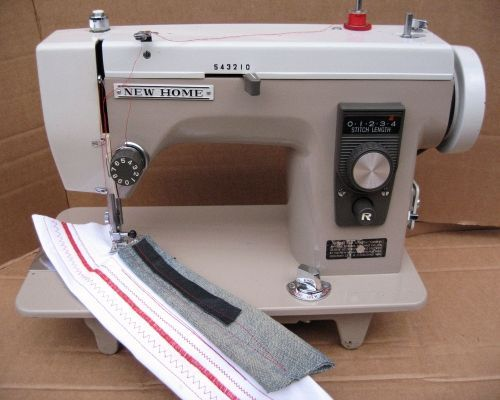 New Home Janome 535 Sewing Machine Instruction Manual