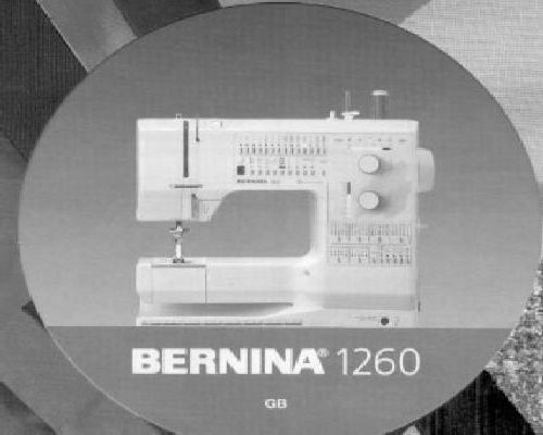 Bernina sewing machine instructions click on image to enlarge fandeluxe Images