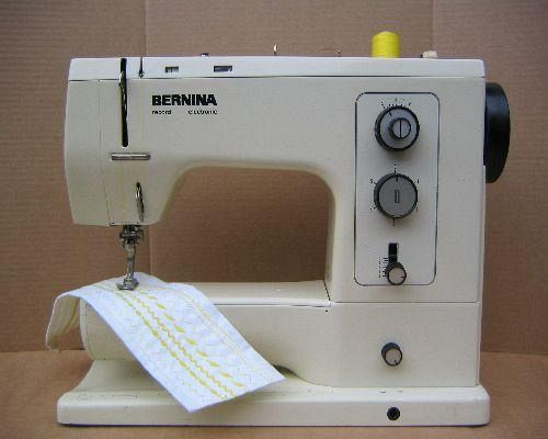 Bernina sewing machine instruction manuals for Machine a coudre 807