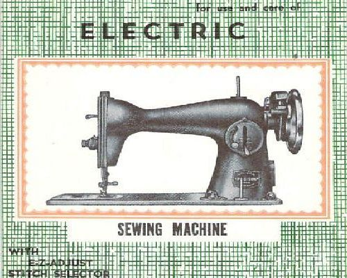 Precision sewing machine manuals
