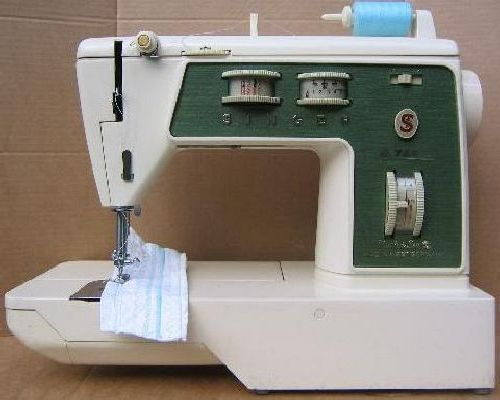 Singer 744 784 sewing machine instruction manual for Machine a coudre 784