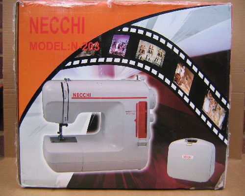 Necchi Alco 2300F sewing machine manual copy